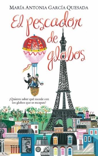 """""""El pescador de globos"""", la nueva novela infantil de María Antonia García Quesada"""