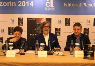 Ramón Pernas presenta en Madrid su novela ganadora del Premio Azorín 2014