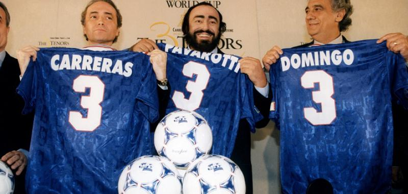 Carreras, Pavarotti y Domingo